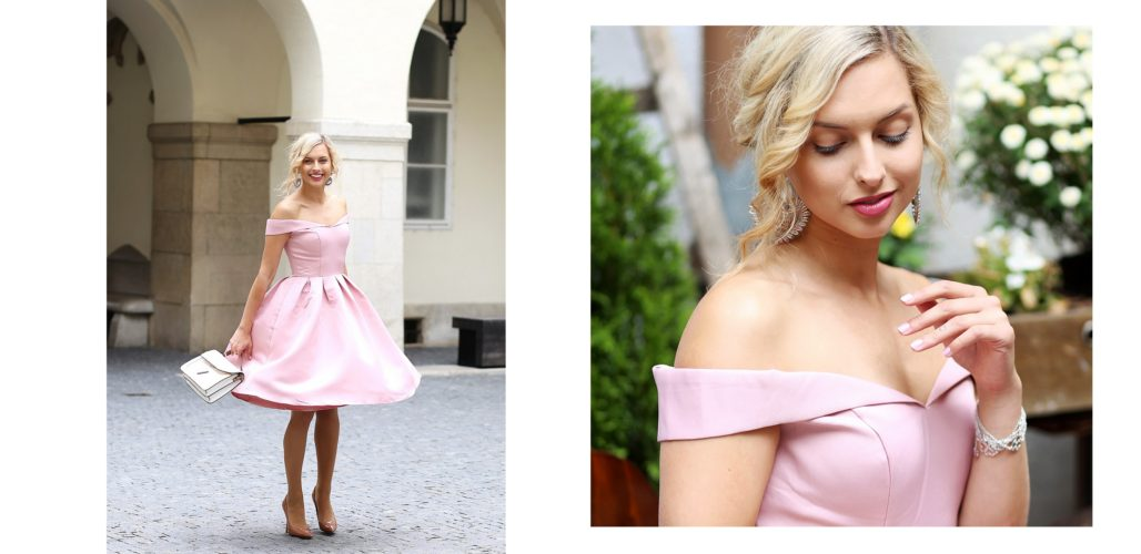 .ružové šaty & Petra Toth