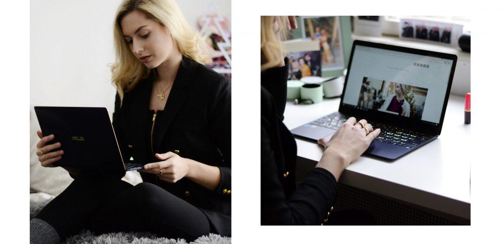 .pracovná rutina & Asus ZenBook 3