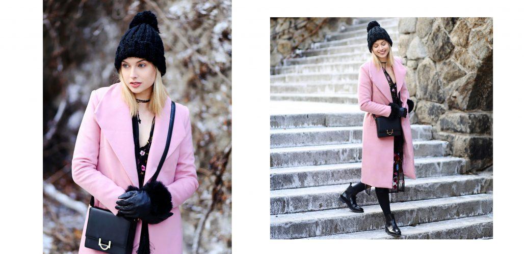 .ružový svet & kvety v zime